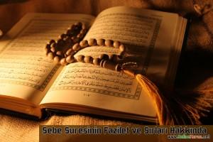 Sebe Suresinin Fazileti, Sırları ve Duaları